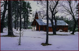 Homestead Red Church Winterland