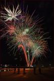 Newport Beach Pier Fireworks