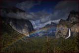 Yosemite Rainbow Tunnel View