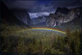 Bridalveil Rainbow Tunnel View