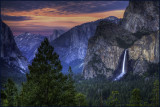 Bridalveil Afterglow Tunnel View