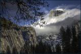 Cloud Shrouded Half Dome