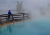 Misty Black Pool
