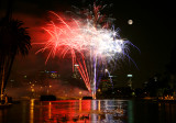 Echo Park Lotus Fireworks