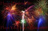 Happy Birtday Fireworks