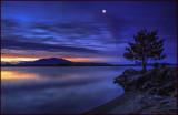 Reflection Lake Moonlight