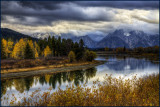 Oxbow Bend Autumn Winter Reflections