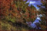 Autumn Lake Reflections
