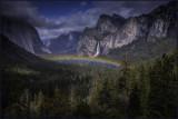 Tunnel View Rainbow
