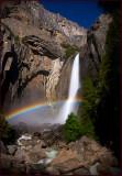Yosemite Falls Starlight Moonbow