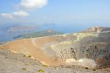 Fumaroles of Vulcano island