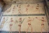 Villa Romana del Casale, Bikini mosaic (early 4th century AD)
