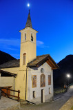 Aosta Valley region, Capella on the village of Cerian
