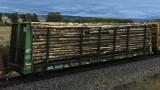 * MRL 63000 series Log Cars (24 photos)