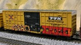 Weathered HO Freight Car Models