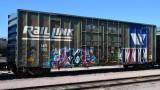 MRL 11000 series 50' Highcube Boxcars (51 photos)