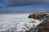 Drifting sea ice