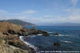 Rocky coastline of Corsica