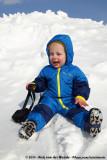 Rens having snow fun