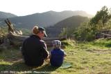 José & Rens at sunset