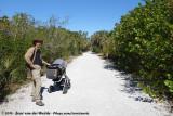 Rick & Rens walking the Indigo Trail