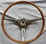 Porsche 356 Carrera 2 teak steering wheel