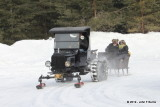 Ford Model TT C Cab Truck and 1 Horse Open Sleigh