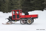 The Model T Ford Snowmobile