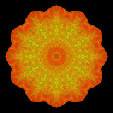 Kaleidoscopic Pictures with Leaves