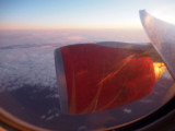 Near sunset over Greenland