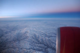 Sunrise somewhere over the Himalayas
