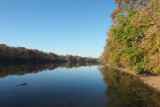 The Potomac, upstream from the waste water plant