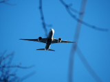 Aircraft flying into Dulles Airport