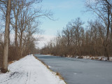 Frozen canal at Dickerson
