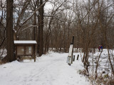 December 20th - Entrance to trail at Dickerson