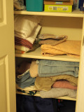 The towel closet