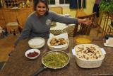 An Indian dinner