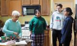 Kitchen gathering