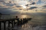 Sea Front Evening Light