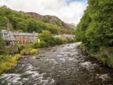 Afon/River  Glaslyn in Beddgelert