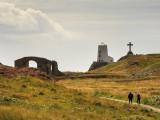 Llanddwyn Island scene