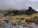 Ruined houses