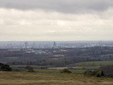 Leicester from Bradgate Park