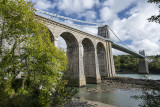 Menai Bridge from below