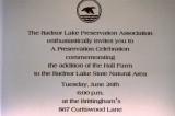 Hall Farm ceremony invitation