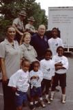Com. Hamilton and kids