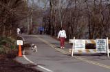 Radnor road closed sign