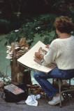 plein air painting at Radnor