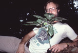 Dr. Paul Somers w/ ginseng plant