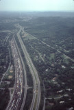 aerial photo over Radnor Yards